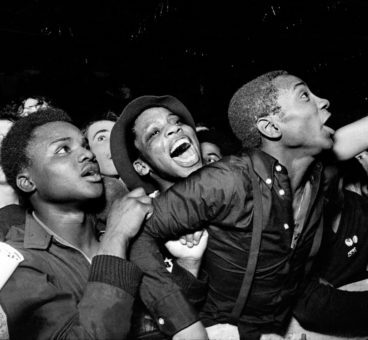 RAR/ ANL Carnival Against the Nazis, Potternewton Park, Leeds 1981 by Syd Shelton, part of an online exhibition at Gallery Oldham